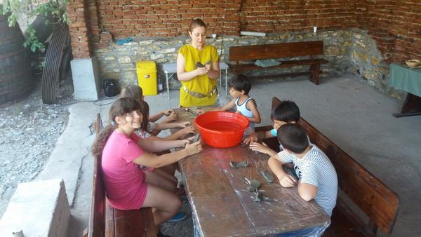 ateliere de ceramica pentru copii 1