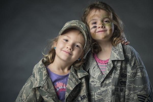 Tabara militara 2b, tabere militare pentru copii