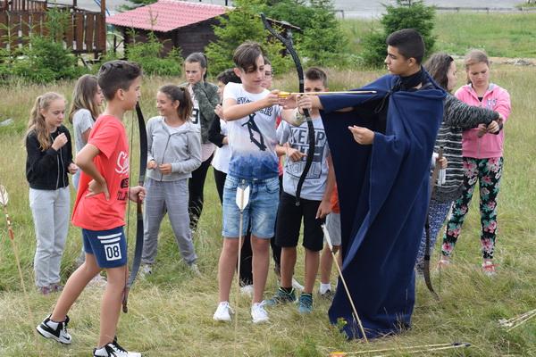 Tir cu arcul pentru copii