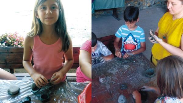 ateliere de ceramica pentru copii